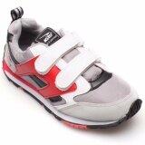 ซื้อ Kito รองเท้ากีฬา Jogging รุ่น Sjg6215 สีเทา แดง ถูก