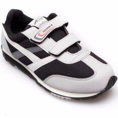 ขาย ซื้อ Kito รองเท้ากีฬา Jogging รุ่น Sjg6218 สีเทา