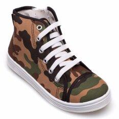 ราคา Kito รองเท้าผ้าใบเด็ก รุ่น S8622 สีอิฐ ออนไลน์ กรุงเทพมหานคร