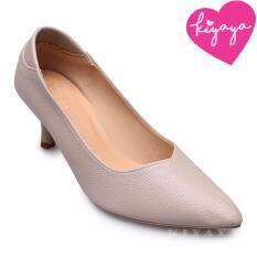 ราคา Kiyaya รองเท้าส้นสูงแฟชั่นผู้หญิง รุ่น G18 05 Grey สีเทา เป็นต้นฉบับ Kiyaya