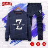 ขาย Kloth33 เสื้อ กางเกง ชุดลำลอง เสื้อแขนยาว กางเกงขายาว เสื้อผ้าแฟชั่นผู้ชายสไตล์เกาหลี ชุดแฟชั่น Korean Style Men S Pants ลาย Z Navy Blue สีกรมท่า ถูก กรุงเทพมหานคร