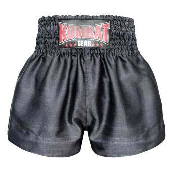 Kombat Gear Muay Thai Boxing shorts Black Denim Pattern