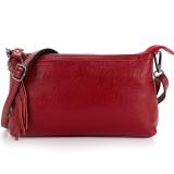 ขาย Korea กระเป๋าผู้หญิง กระเป๋าสะพายกระเป๋าถือหนังแท้ รุ่นA004 5 1 สีแดง Korea ใน ไทย
