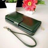ซื้อ Korea Best Style กระเป๋าสตางค์ ผู้หญิง ใบยาวมีช่องใส่เหรียญ รุ่น B099 Hp สีเขียว Korea Best Style เป็นต้นฉบับ