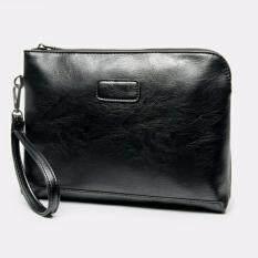 ราคา Korea Best Style กระเป๋าถือ กระเป๋าใส่ipad ใส่เอกสาร หนัง รุ่นA002 9 1Aสีดำ Leather Inc เป็นต้นฉบับ