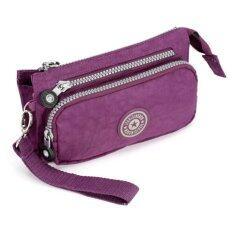 ขาย Korea Gedanni กระเป๋าถือ กระเป๋าสตางค์ รุ่น B099 8 สีม่วง ถูก