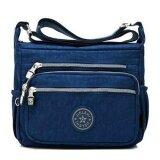 ราคา Korea Jielshi กระเป๋าเป้สะพายข้าง ผู้หญิง ผ้ากันน้ำ รุ่น G012 9 B สีน้ำเงิน ใหม่