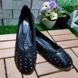 ราคา Korea Keng รองเท้าสตรี ส้นแบน สีดำ รุ่น 30 1004 ใหม่