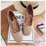 ขาย Korea Keng รองเท้าคัชชู หนังนิ่ม สีเบจ รุ่น 30 1022 ราคาถูกที่สุด