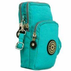 ส่วนลด สินค้า Korea กระเป๋าสะพายใบเล็กผ้ากันน้ำใส่มือถือใส่สตางค์ รุ่น G088 2 สีเขียว