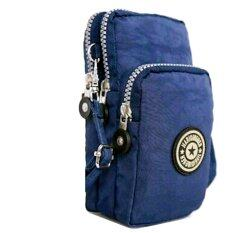 ซื้อ Korea กระเป๋าสะพายใบเล็กผ้ากันน้ำใส่มือถือใส่สตางค์ รุ่น G088 3 สีน้ำเงิน ไทย