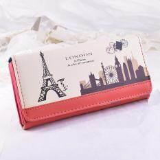 ขาย Korea กระเป๋าสตางค์ใบยาว กระเป๋าสตางค์ ของผู้หญิงรุ่นParis Unbranded Generic ใน กรุงเทพมหานคร