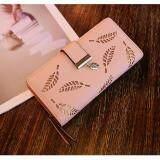 ราคา Korea Style กระเป๋าสตางค์ ใบยาว หนัง Pu กระเป๋าเงิน ผู้หญิง กระเป๋าตัง ตามวันเกิด รุ่น Classic สีชมพู Belief ใหม่