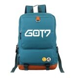 ซื้อ Korean Fashion Backpack Got7 Students Backpack Shoulder Relief Women Men Laptop Backpack Large Capacity Shoulder Bag Travel Street Intl ออนไลน์ ถูก