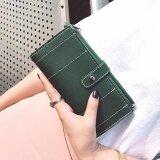 ซื้อ เกาหลี สไตล์ ผู้หญิง Bifold กระเป๋าสตางค์ แฟชั่น บัตร เจ้าของ กระเป๋าเงิน สีเขียว Intl Unbranded Generic เป็นต้นฉบับ