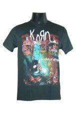 โปรโมชั่น เสื้อวง Korn เสื้อยืดวงดนตรีร็อค เมทัล เสื้อร็อค คอร์น Kon1593 สินค้าในประเทศ ใน ไทย