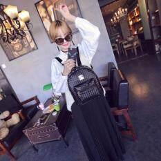 ขาย กระเป๋า กระเป๋าเป้ กระเป๋าสะพายหลังสีดำ Woman Backpack No 4 Black ถูก