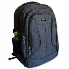 ขาย กระเป๋าเป้โน๊ตบุ๊คสะพายหลังรุ่น 10095 1 สีเทา ดำ ออนไลน์ ใน กรุงเทพมหานคร