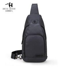 ขาย กระเป๋าสะพายข้าง พาดลำตัวสีดำ ผู้ชาย รุ่นXb13005 กันน้ำ สีดำ Umbrella ถูก