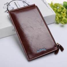 ขาย กระเป๋าสตางค์หนังหลาย Crad Holder Lady Hasp Shopping คลัทช์มาตรฐานกระเป๋าผู้หญิงผู้ชายผู้หญิง Unisex Zipper กระเป๋าสตางค์กาแฟ ผู้ค้าส่ง