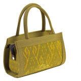 ราคา กระเป๋าถือคุณนาย ตราแพรไหม รหัส M143 Yellow ออนไลน์ กรุงเทพมหานคร