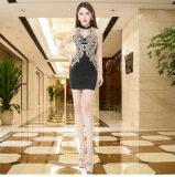 ขาย เบลล์ไนท์คลับหญิงโรงแรม Ktv ชุดเซ็กซี่ชุดราตรี สีดำ ถูก ฮ่องกง
