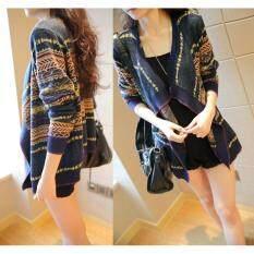 ซื้อ Kw5707002 เสื้อกันหนาวคาดิแกนไหมพรมลายวินเทจ Yifen แฟชั่นเกาหลี พร้อมส่ง ถูก