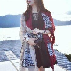 ซื้อ Ladies Street Shooting Travel Fashion Accessories Wild Shawl Scarf No 22 Owl Red Wine Intl ออนไลน์ จีน