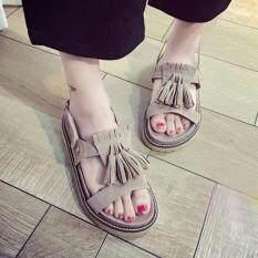 โปรโมชั่น Lady Jolly รองเท้าแตะแฟชั่น Gray Thailand