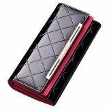 ราคา Lady Rewards กระเป๋าสตางค์ หนังแท้ สำหรับสุภาพสตรี รุ่น Wlw A8039 สีดำ เป็นต้นฉบับ
