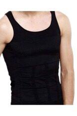 ขาย หญ้าคาผู้ชายเครื่องไส ร่างกาย Slimming เครื่องไส เสื้อกั๊ก Belly เอวเสื้อชุดชั้นในสีดำ เป็นต้นฉบับ