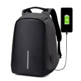 ขาย Laptop Camera Shoulder Bag Travel Usb Charging Men S Anti Thief Backpack Intl Unbranded Generic