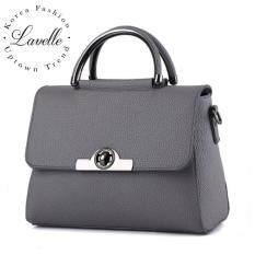 ซื้อ Lavelle 4303 การออกแบบเกาหลี คุณภาพระดับพรีเมียม แฟชั่น กระเป๋าสะพายไหล่ สีเทา ออนไลน์