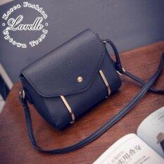 ขาย Lavelle 913 การออกแบบเกาหลี คุณภาพระดับพรีเมียม แฟชั่น กระเป๋าสะพายไหล่ สีดํา