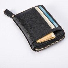 ซื้อ Leather Men Business Wallet Vintage Purse High Quality Id Credit Card Pockets Bk Intl Joomia ถูก