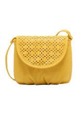 ซื้อ Leather Satchel Tote Shoulder Bag Yellow Intl Unbranded Generic ถูก