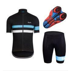 โปรโมชั่น Lee Bicycle ชุดสั้นปั่นจักรยาน แบบใหม่ ลาย:rapha กางเกงเป้าเจล20D สำหรับนักปั่นทั้งชายและหญิง ถูก