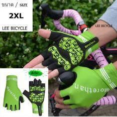 โปรโมชั่น Lee Bicycle Morethan ถุงมือเจลแบบเต็มข้อมือ สีเขียว