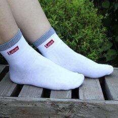 ซื้อ Lee Socks สีขาว แพค 4 ชิ้น Lee ถูก
