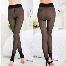 ส่วนลด Legging For Winter เลคกิ้ง ลองจอน สีดำซีทรู เลคกิ้งสีเนื้อ กันหนาว ดำซีทรู Veeda กรุงเทพมหานคร