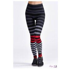 ซื้อ Leggings Color Value K Deerzer ฺฺblack Red ใน กรุงเทพมหานคร