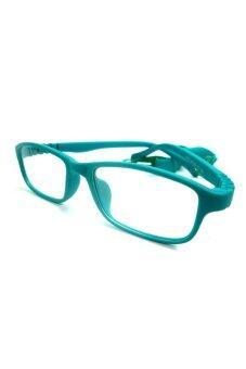 Let's See แว่นตาเด็ก กรอบแว่นตาเด็ก อายุ 5-9 ปี (Green)