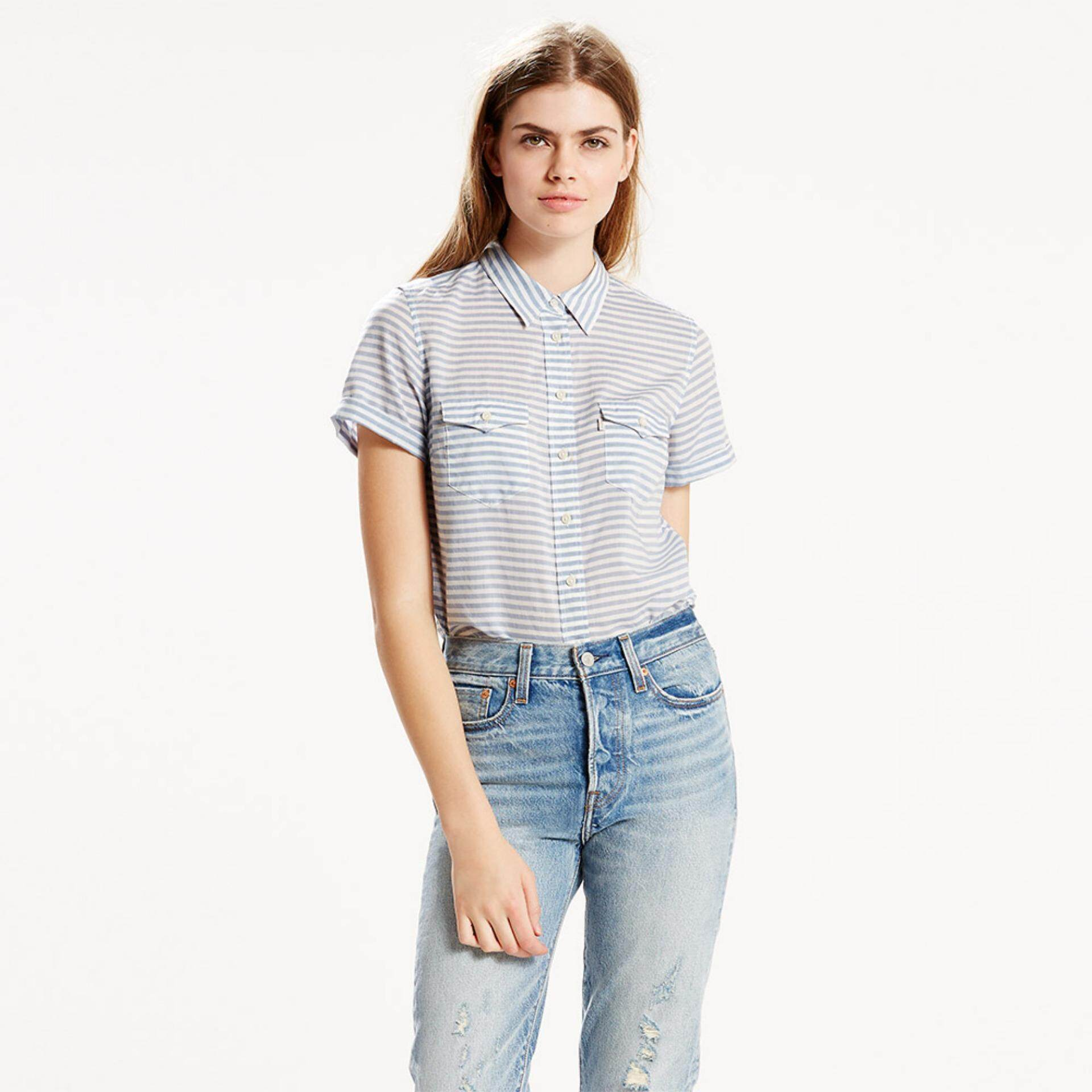 เสื้อเชิ้ต Levi's® Tailored Short Sleeve Western