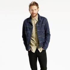 ขาย เสื้อแจ็คเก็ตยีนส์ Levi S® Trucker Jacket 24459 0000 Interstella Levi S ถูก