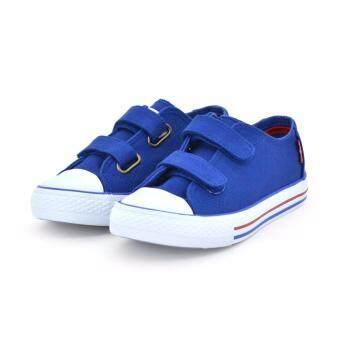 sneaker Special_ LEVI'S รองเท้าผ้าใบ LEVI'S สีน้ำเงิน รหัส 4499030