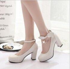 ขาย ซื้อ แฟชั่นผู้หญิง Leyi พร้อมส้นรองเท้าส้นสูง สีขาว ใน จีน