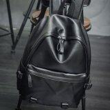 โปรโมชั่น Leyi Men S Fashion Leisure Han Edition Shoulders Knapsack Black Intl Unbranded Generic ใหม่ล่าสุด