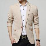 ซื้อ Leyi Men S Korean Youth Small Suit Coat Of Cultivate One S Morality Khaki Intl ออนไลน์ จีน