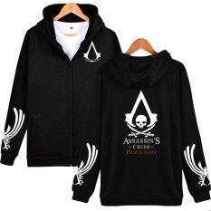 Limeng Classic Rpg Game Hooded Hoodies Sweatshirts Men Zipper Assassins Creed Aveline Fashion Black Sweatshirts Men Zipper Hoodies Sweatshirts Maxi Plus Size Casual Clothes Series 3 Black Intl เป็นต้นฉบับ