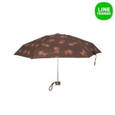 ขาย Line Friends Five Fold Mini Umbrella Brown Line Friends ถูก